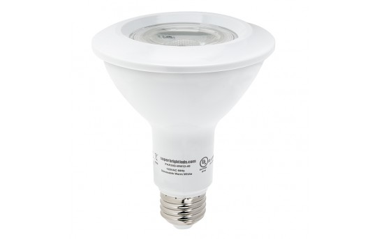 PAR30 LED Bulb - 12 Watt - Dimmable LED Spotlight Bulb - 1,100 Lumens - PAR30D-x12-40