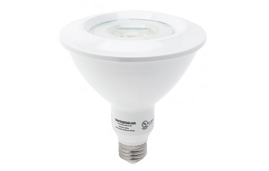 PAR38 LED Bulb - 16 Watt - Dimmable LED Spotlight Bulb - 1,500 Lumens - PAR38D-x16-40