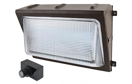 Photocontrol LED Wall Pack - 80W (400W MH Equivalent) - 5000K/4000K - 10,000 Lumens - WP-x80-Sx