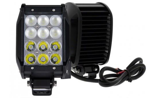 "4"" Quad-Row Off-Road LED Light Bar w/ Multibeam Technology - 27W - 2,520 Lumens - ORBT4-36WQ-MB"