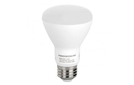 R20 LED Bulb - 60 Watt Equivalent - Dimmable LED Flood Light Bulb - 600 Lumens - R20D-x6
