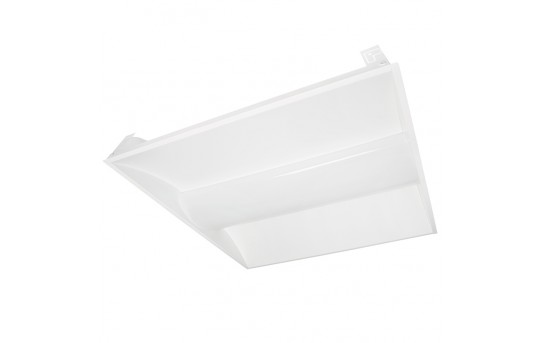 34W Recessed LED Troffer Light w/ Center Basket - 2ft x 2ft - 3,900 Lumens - Dimmable - TLF-xK220-34