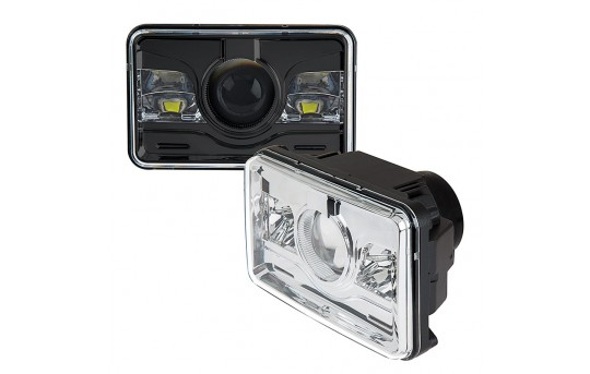 Rectangular H4651 LED Projector Headlights - LED Headlights Conversion - Sealed Beam - H4651-60x