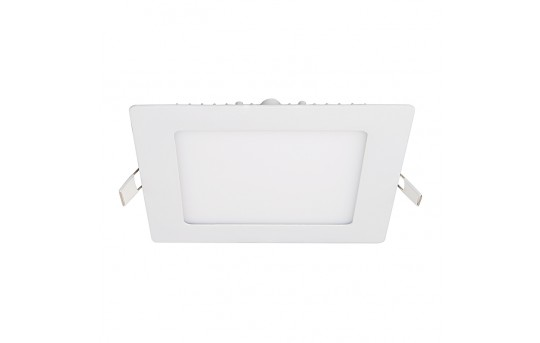 "6"" Square LED Recessed Light - LED Downlight w/ Open Trim - 60 Watt Equivalent - 575 Lumens - RLFP-x9S"