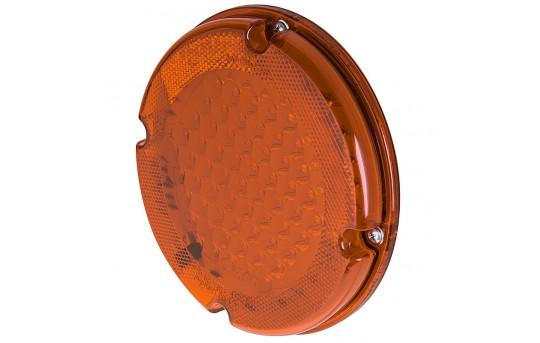 "Round LED Transit Bus Tail Lights - 7"" LED Stop Turn Tail Light with 61 LEDs - SB7-x61"