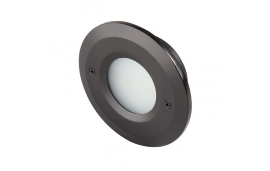 12V LED Deck Lights - Window Round Deck Accent Light with Faceplate - 95 Lumens - SLR-x2x-12V-Ox