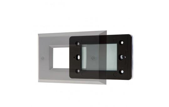 12V LED Deck Lights - Window Rectangular Deck Accent Light with Faceplate - 55 Lumens - SLRE-x2x-12V-Ox