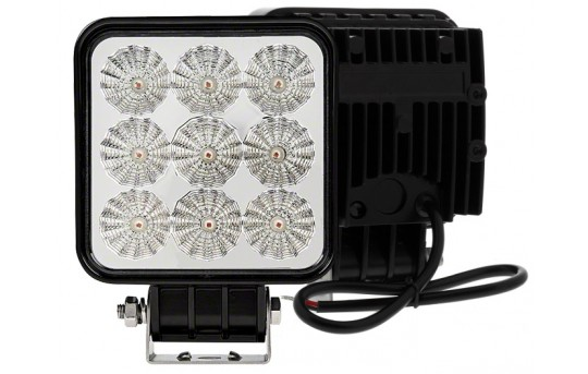 "Amber Off-Road LED Work Light/LED Driving Light - 5"" Square - 16W - 478 Lumens - WL-A16W-S60"