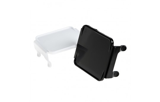 "3"" Square LED Light Pod Lens Cover - Opaque - AUX-x3PL"