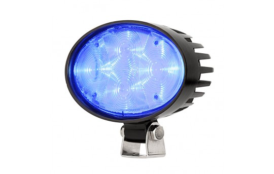 Forklift Blue Light - LED Safety Light w/ 4° Square Beam Pattern - SWL-Bx-O4