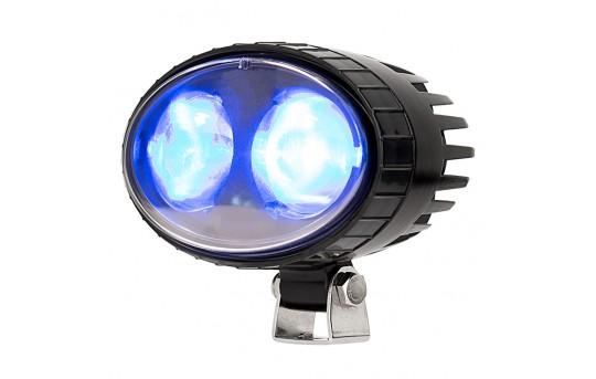 Forklift Blue Light - LED Safety Light w/ 2° Square Beam Pattern - SWL-B6-O2