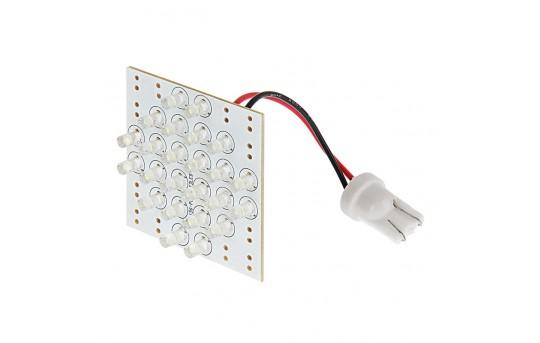 T3.25 LED Bulb - 24 LED PCB Lamp - Miniature Wedge Retrofit - T3.25-PCB-W24-CAR