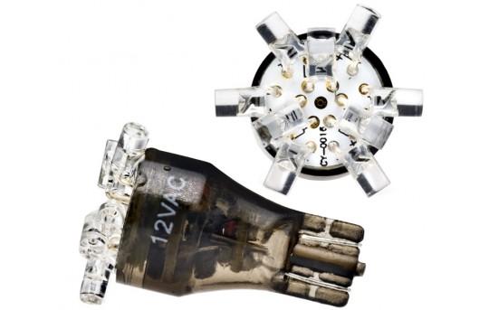 9 RGB LED Malibu Light Bulb - Miniature Wedge Retrofit - T9M-RGB