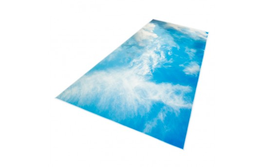 Skylens® Fluorescent Light Diffuser - Summer Sky Decorative Light Cover - 2' x 4' - TRD-C5-24