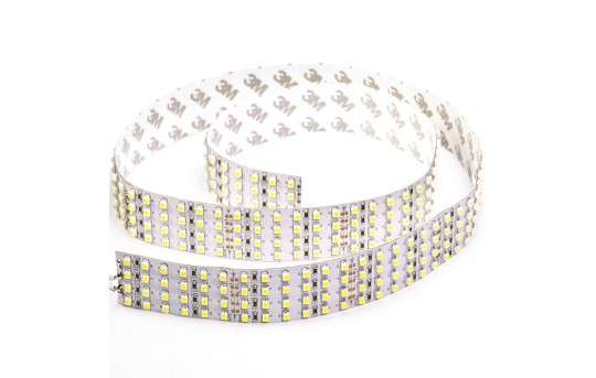 Bright LED Strip Lights - Quad Row LED Tape Light with 137 SMDs/ft. - 1 Chip SMD LED 3528 (1m lengths) - 4NFLS-x2160-24V-x