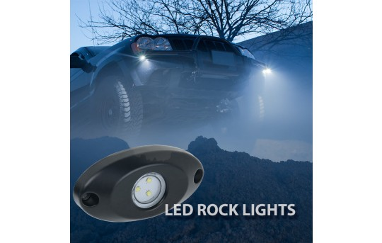 Waterproof Off Road LED Rock Light Kit - 8 LED Rock Lights - 213 Lumens - RLMK-x9-8