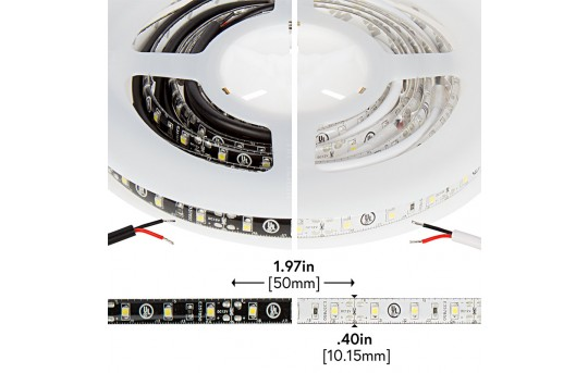 Outdoor LED Strip Lights - Weatherproof 12V LED Tape Light - 76 Lumens/ft. - WFLS-x