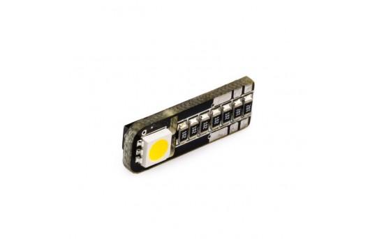 194 CAN Bus LED Bulb - 1 SIDE SMD LED - Miniature Wedge Retrofit - WLED-xS-CB-CAR