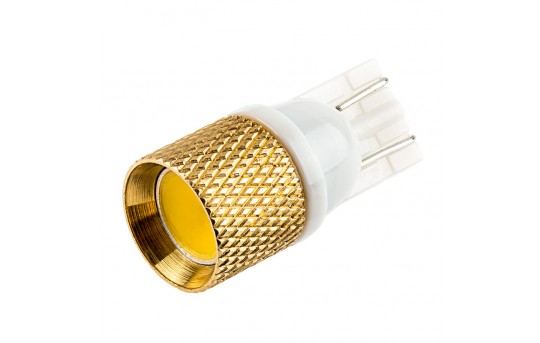 194 LED Boat and RV Light Bulb - 1 Strobing COB LED - Miniature Wedge Retrofit - 194-xHP-STRB-RVB