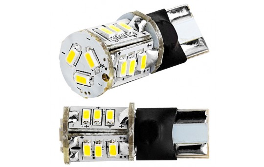 921 LED Boat and RV Light Bulb - 15 SMD LED Tower - Miniature Wedge Retrofit - 100 Lumens - 921-xHP15-TAC-RVB