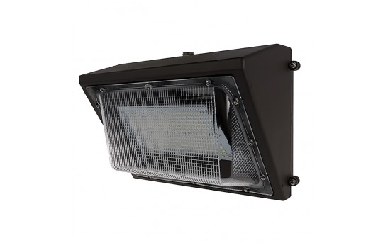 60W LED Wall Pack with Photocell - 7300 Lumens - 250W Metal Halide Equivalent - 5000K/4000K - WP2-x60-Sx