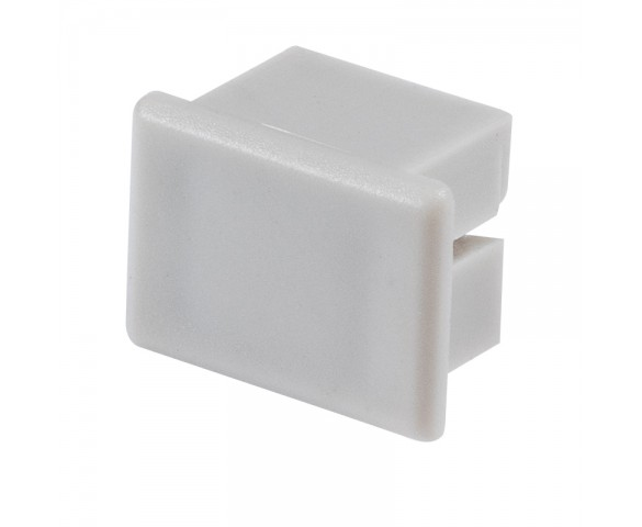 Klus 00026 - PDS4-ALU series Deep Surface Mount LED Profile End Cap