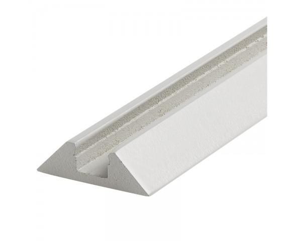 Angled Surface Mount Profile for LED Strip Lights - KLUS STOS-MDF Series