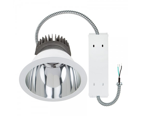 "10"" Architectural Retrofit LED Downlight - 290 Watt Equivalent - 2,900 Lumens"