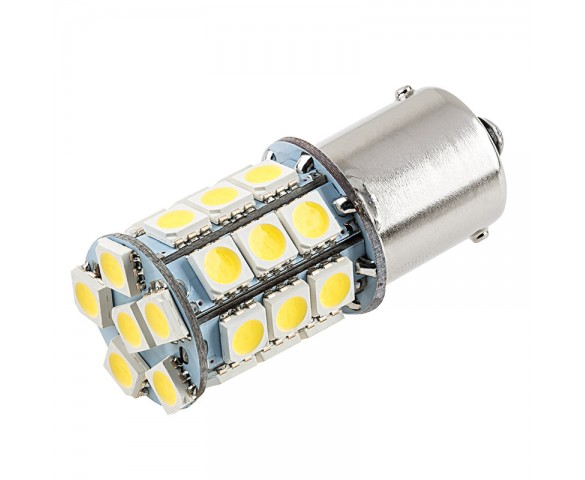 1156 LED Bulb - 27 SMD LED Tower - BA15S Retrofit