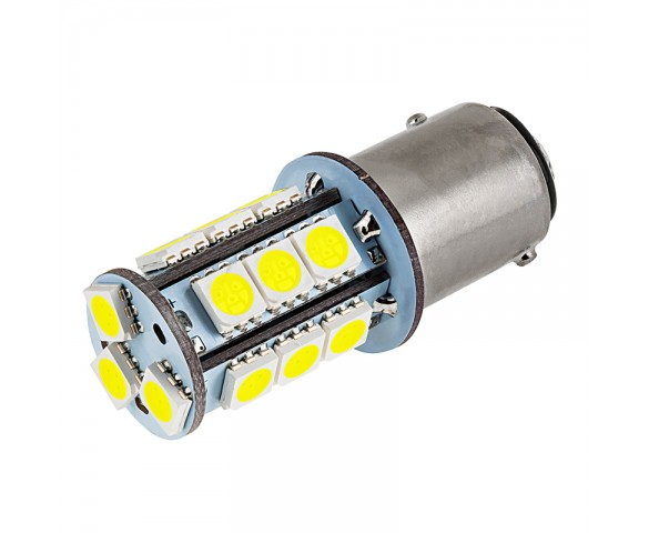 1157 LED Bulb - Dual Function 18 SMD LED Tower - BAY15D Retrofit