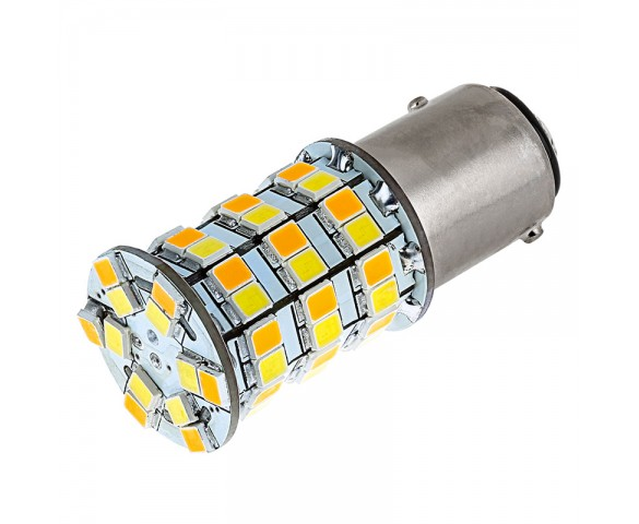 1157 Switchback LED Bulb - Dual Function 60 SMD LED Tower - A Type - BAY15D Retrofit