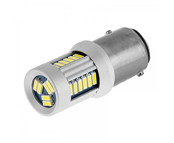 1157 CAN Bus LED Bulb - Dual Function 30 SMD LED Tower - BAY15D Retrofit