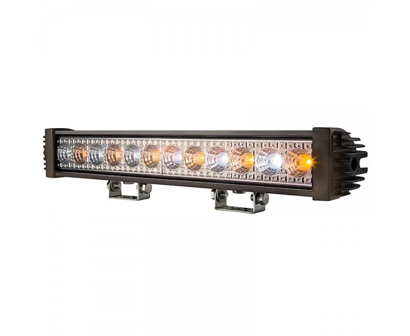 "18"" Amber/White LED Off Road Light Bar - 24W"