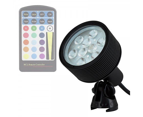 18W Color Changing RGB LED Landscape Spotlight (Remote Sold Separately)