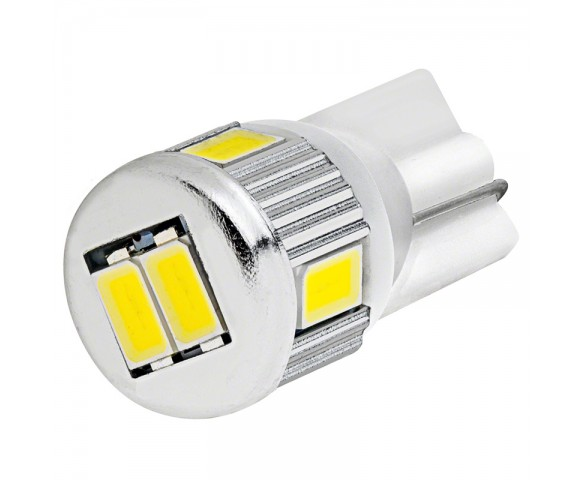 194 LED Bulb - 6 SMD LED Wedge Base Tower
