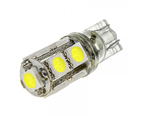 921 LED Bulb - 9 SMD LED Wedge Base Tower