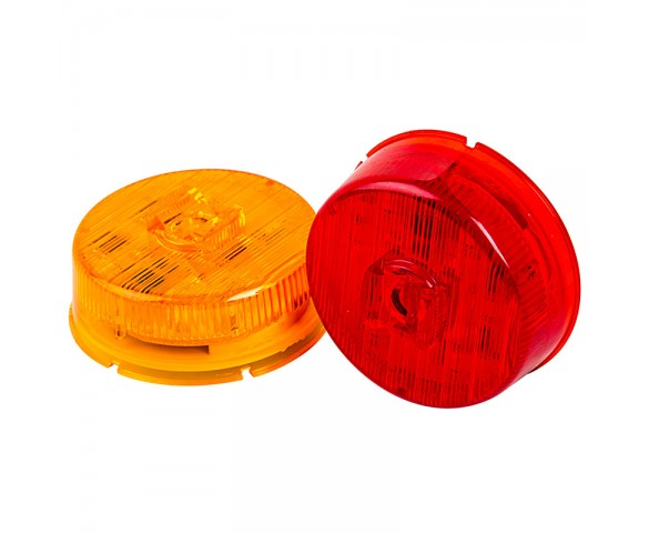 M5PC series 2in Round LED Marker Lamp: Available In Red & Amber