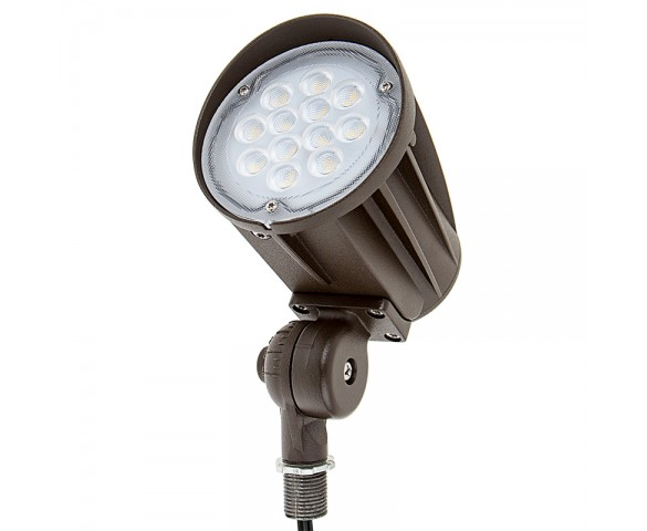 20 Watt Knuckle-Mount LED Flood Light - Bullet Style