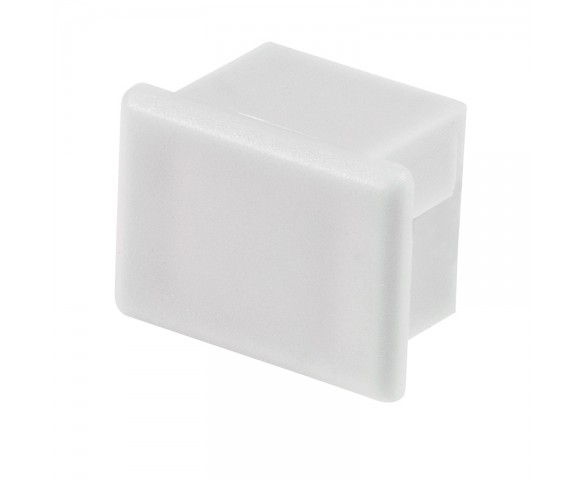 White End Cap for KLUS PDS-4-ALU LED Channels - KLUS 20002