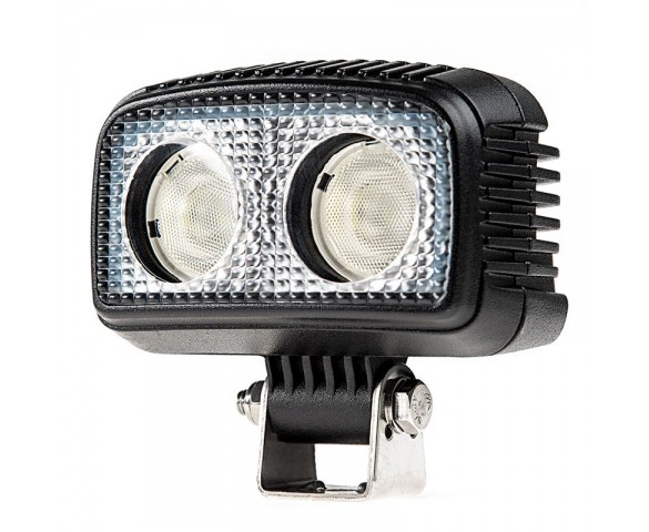 "20W Mini-Aux 4"" Dual Row LED Off Road Work Light - CREE"