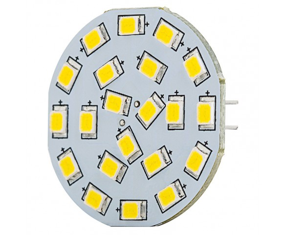 LED G4 Lamp, 21 High Power LED Disc Type with Back Pins
