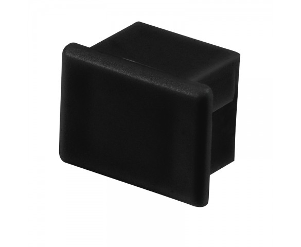 Black End Cap for KLUS PDS-4-ALU LED Channels - KLUS 24066