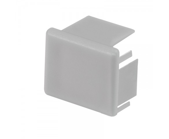 Deep End Cap for KLUS MICRO-ALU LED Channels - KLUS 24216