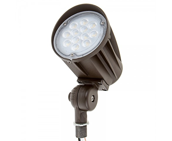 28 Watt Knuckle-Mount LED Flood Light - Bullet Style