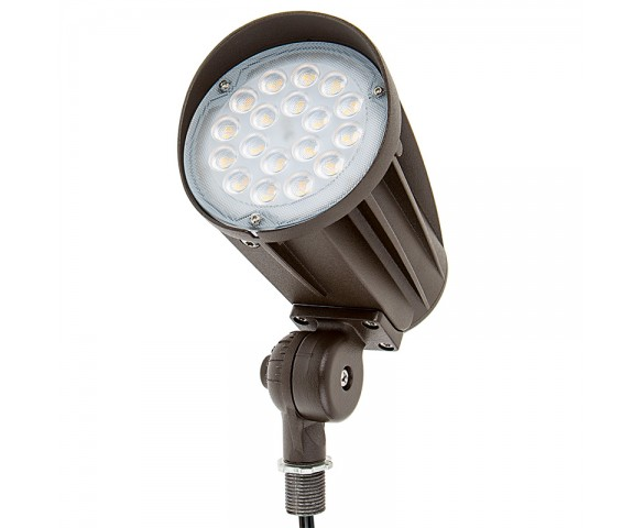 30 Watt Knuckle-Mount LED Flood Light - Bullet Style