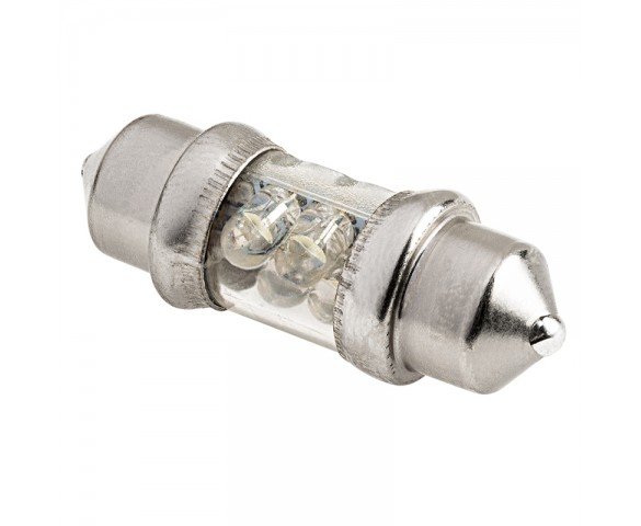 DE3175 LED Bulb - 4 LED Festoon - 30mm