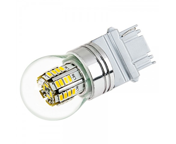 3156 LED Bulb w/ Stock Cover - 36 SMD LED Tower - Wedge Retrofit