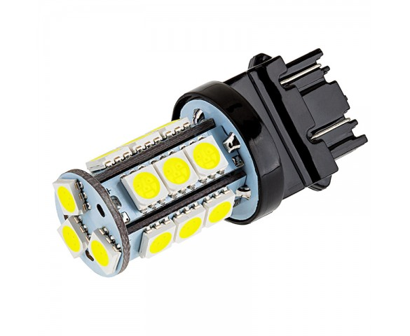 3157 LED Bulb - Dual Function 18 SMD LED Tower - Wedge Retrofit