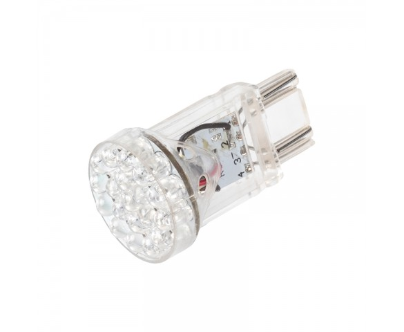 3157 LED Bulb - Dual Function 25 LED Motorcycle Bulb