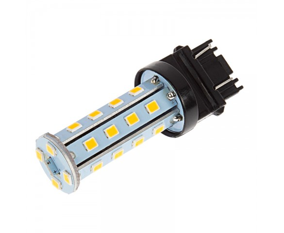 3157 LED Bulb - Dual Function 28 SMD LED Tower - Wedge Retrofit